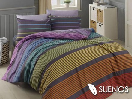 Lenjerie Single Linea Grey (Bumbac 100%)