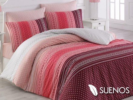 Lenjerie Single Summer Pink (Bumbac 100%)