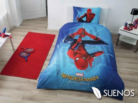 Lenjerie Single Spider-Man Homecoming (Bumbac 100%)