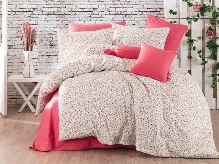 Lenjerie Rossy Fucsia (Bumbac 100%)
